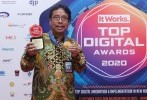 Kepala BSN Raih Penghargaan Top Leader on Digital Implementation 2020
