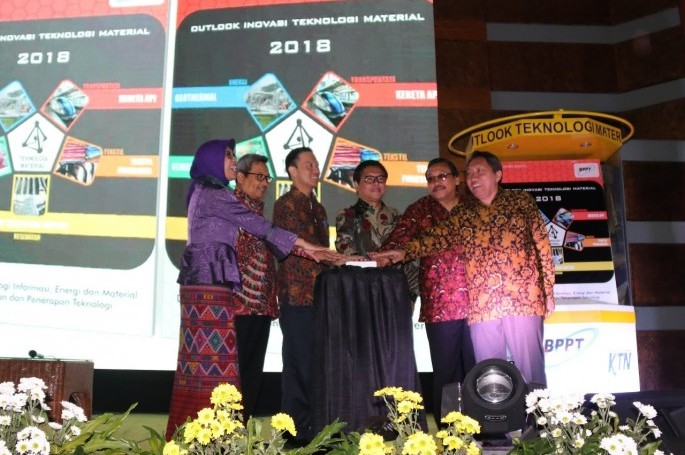 Grand Launching Outlook Teknologi Material Menuju Industri 4.0